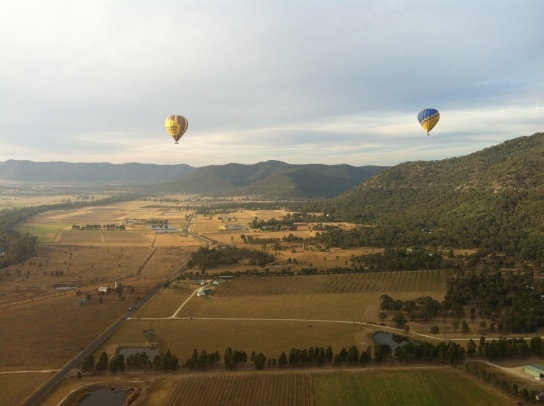 Australia's Hunter Valley in the spring.